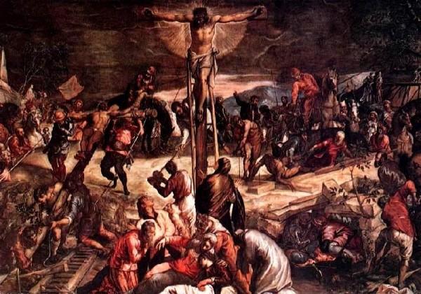 Récit et légende de Saint Marc - Crucifixion - Véronèse