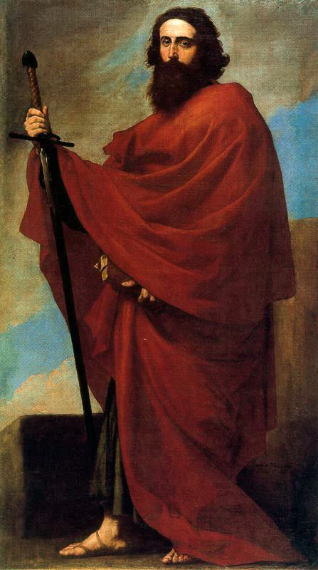 Saint Paul par Jose de Ribere dit El Espanoleto