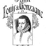 Vie de Saint Louis de Gonzague, patron de la jeunesse : dessin à colorier