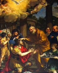Ananias rend la vue à Saint Paul -1631 - Pietro de Cortana