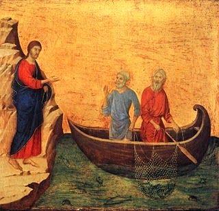L'appel de Pierre - Vocation des apôtres