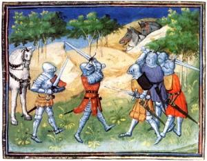 Bataille des chevaliers