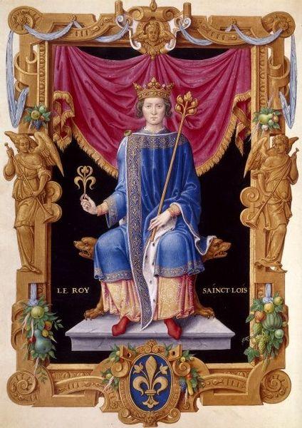 Histoire du roi Saint Louis enfant