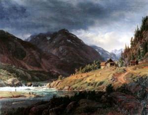 Histoire pour illustrer Vaillance et Devoir d'état - Fjord en Norvège par Louis Gurlitt