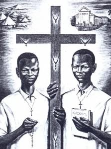 Pages d'Ouganda chrétiens