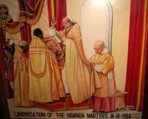 canonisation des martyrs de l'Ouganda