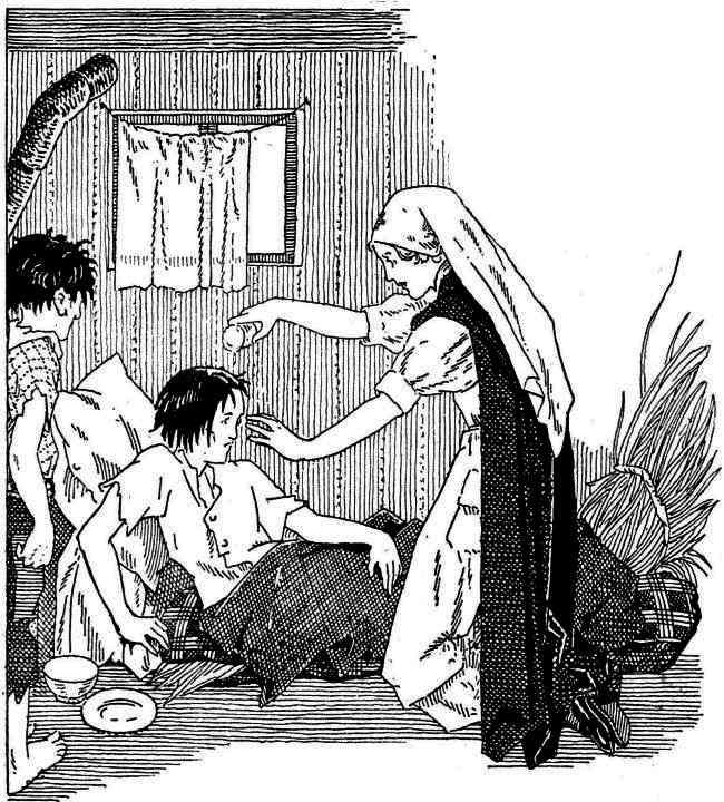 ... et puis je la baptise au nom du Père, et du Fils, et du Saint-Esprit.