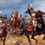 Histoire pour le KT : Le Général de Caulaincourt conduisant la charge des cuirassiers à la bataille de la Moskova, le 7 Septembre 1812