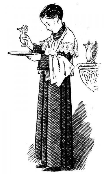 Servant de messe - Enfant de chœur au moment du Lavabo