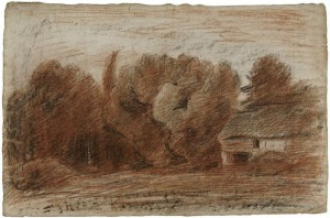 Récit Noel de Bretagne - DAUBIGNY Charles François - maison à la lisière de la forêt