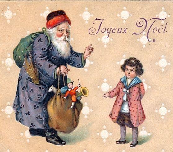 Distribution de cadeaux de Noël à un petit garçon - Joyeux Noël !