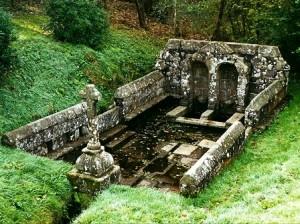 Le trésor de Noël : légende bretonne - Fontaine dans la forêt