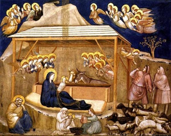 Giotto - Assise : Nativité. Histoire pour les mômes de KT