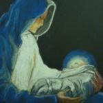 Marie présentant Jésus