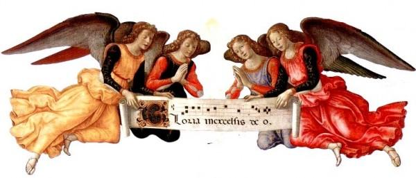 Récit pour le catéchisme : Les anges de Noël chantent Gloria in excelsis Deo