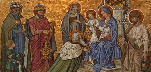 Adoration des mages, récit pour le cathé de l'Epiphanie