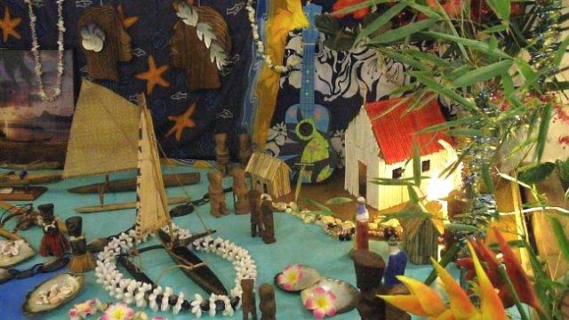crêche polynésienne histoire pour les mômes