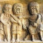 histoire pour les enfants sages : Les rois mages devant le roi Hérode
