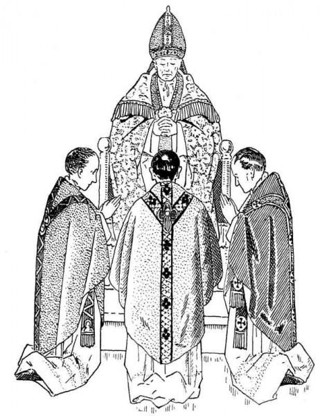 Cérémonie de l'ordination - « Ils sont prêtres pour l'éternité. »