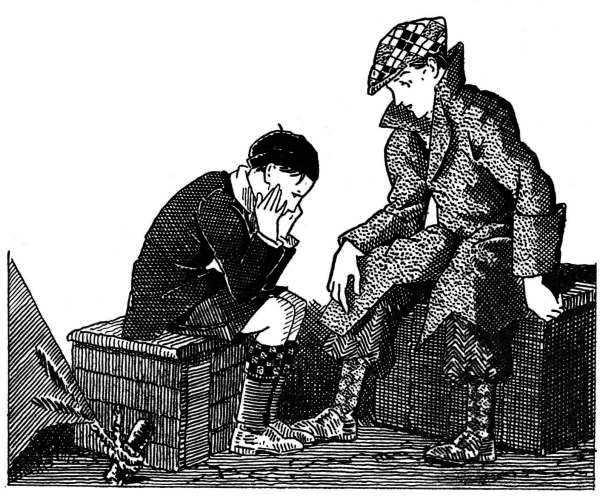 Bernard aide le petit André à résister à la tentation d'un mauvais spectacle