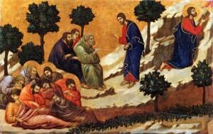 Pour les enfants du caté : La Passion  du Christ - La Priere au jardin des oliviers
