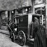 Mois de mars : histoire de Saint Joseph - Petites soeurs de pauvres quêtant avec leur cheval