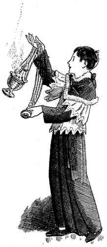 Enfant de choeur ou servant de messe : le thuriféraire