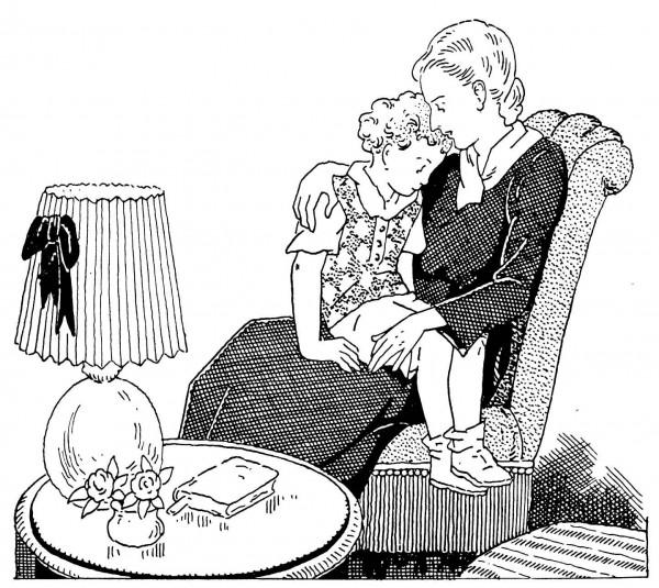 Pierrot se confie à sa maman pour préparer sa première communion