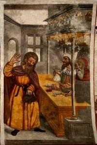 Récit de la Passion pour le catéchisme : Judas vend Jésus pour 30 deniers