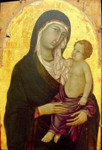 Fresque de la Vierge - Vital des madones - Bologne
