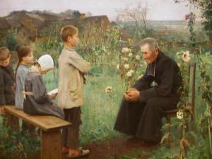 leçon de catéchisme