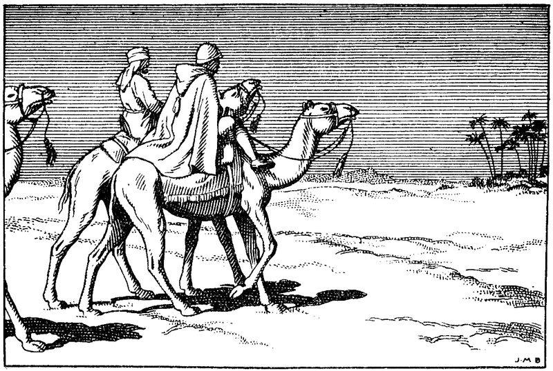 Charles de Foucauld et le général de Laperrine : coloriage pour le caté