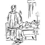 coloriage pour la première communion