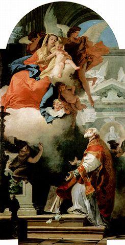 Saint Philippe de Neri par Giovanni Battista Tiepolo