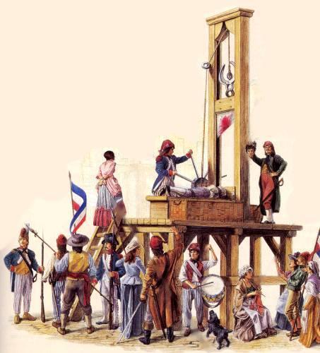 guillotine Terreur