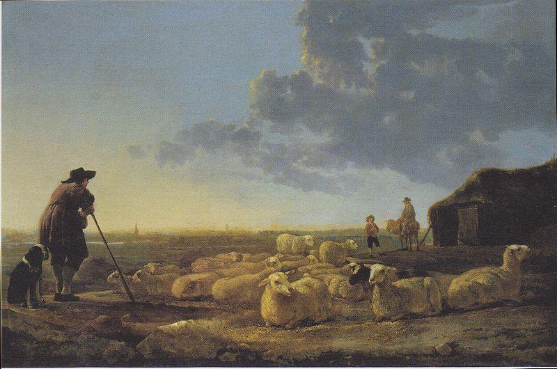 Troupeau de moutons, par Aelbert Cuyp