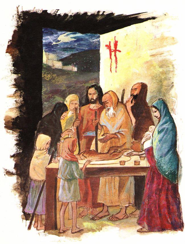 La bible pour les enfants : La Pâque juive - Sacrifice de l'agneau pascal