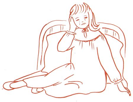 Sainte Madeleine Sophie Barat enfant qui pleure