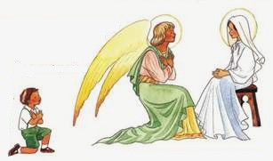 L'angelus et le petit garçon - L'ange du Seigneur annonça à Marie