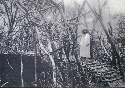 Missionnaire dans la brousse