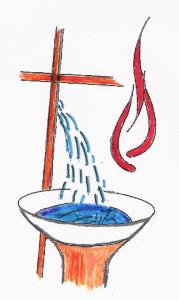 La Croix source de l'Eau Baptismale