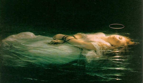 Sainte Salsa précipitée dans la mer