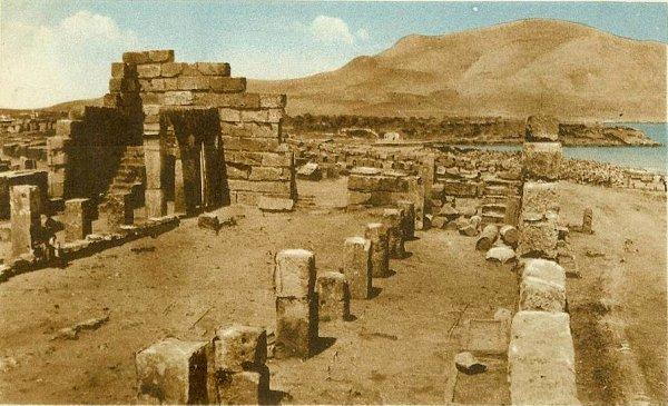 Ruine de la basilique Sainte Salsa à Tipiasa
