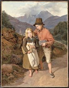 Pierre et sa soeur vont voir madame Dubuis