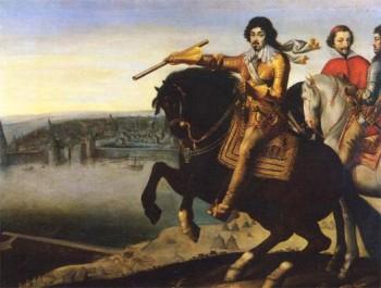 LouisXIII au siège de La Rochelle - Récit de Noël