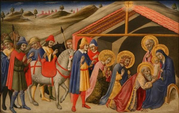 Raconter l'Epipĥanie aux enfants : Adoration des Mages - Fra Angelico