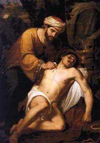 Le frère de Balthasar soigne un malheureux - histoire pour les enfants