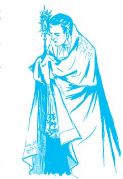 évangélisation des enfants : Saint Louis-Marie Grignon de Monfort et le Saint-Sacrement