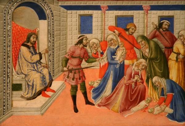 Catéchèse des enfants - Massacre des saints innocents