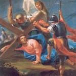 Méditation du Chemin de Croix pour le catéchisme - Jésus tombe pour la prèmiere fois
